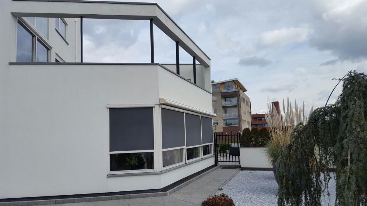 Villa schilderen van leth schilderwerken - Buiten villa outs ...